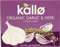 Kallo Garlic Herb Stock Organic