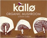 Kallo Mushroom Stock Cubes Organic