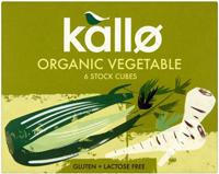 Kallo Vegetable Stock Cubes Organic