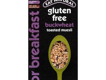 Eat Natural Buckwheat Toasted Muesli