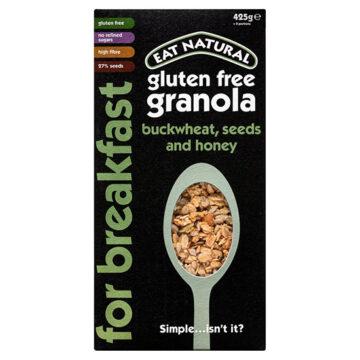 Eat Natural Buckwheat Seeds & Honey Super Gluten Free Granola