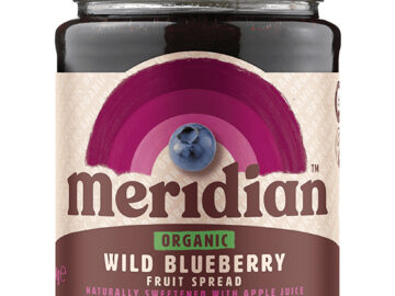 Meridian Wild Blueberry Fruit Spread Organic