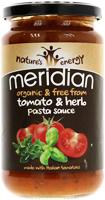 Meridian Tomato Herb Family Pasta Sauce Organic