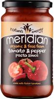 Meridian Tomato & Pepper Family Pasta Sauce Organic