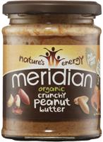 Meridian Peanut Butter Crunchy No Salt Organic