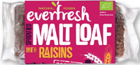 Everfresh Malted Raisin Loaf Organic (Sunnyvale)