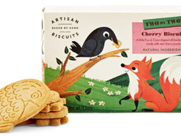 Artisan Two by Two The Fox & The Crow Cherry Biscuits