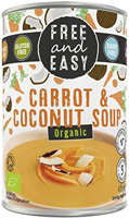 Free & Easy Carrot & Coconut Soup Organic