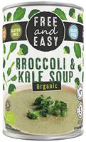 Free & Easy Broccoli & Kale Soup Organic