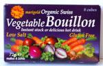 Marigold Bouillon Low Salt Cube Organic