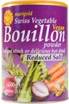 Marigold Bouillon Reduced Salt Vegan Powder 500g