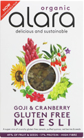 Alara Goji & Cranberry Muesli Organic