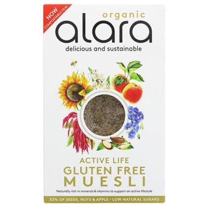 Alara Active Life Gluten Free Muesli Organic