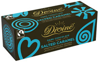 Divine Salted Caramel Dark Chocolate Thins