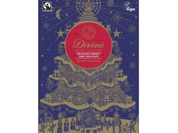 Divine Dark Chocolate Vegan Advent Calendar Fairtrade