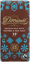 Divine 38% Milk Chocolate Toffee & Sea Salt