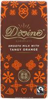 Divine Fairtrade Orange Milk Chocolate