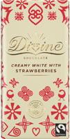 Divine Creamy With Strawberries