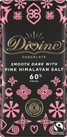 Divine Smooth Dark Chocolate With Pink Himalayan Salt