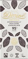 Divine Exceptionally Rich Dark Chocolate Organic