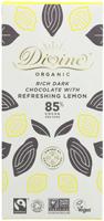 Divine Rich Dark Chocolate Refreshing Lemon Organic