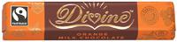 Divine Fairtrade Orange Milk Chocolate Bar