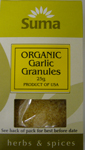 Suma Garlic Granules Organic