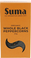 Suma Black Peppercorns Organic