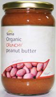 Suma Crunchy Unsalted Peanut Butter Organic 700g