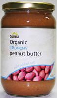 Suma Crunchy Salted Peanut Butter Organic 700g