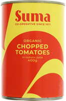Suma Chopped Tomatoes Organic