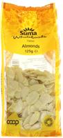 Suma Almonds Flaked 125g