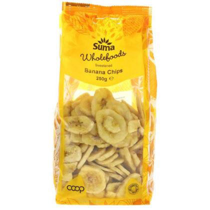 Suma Sweetened Banana Chips 250g