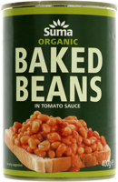 Suma Baked Beans With Reduced Salt Organic