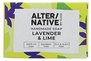 Alter/Native Lavender & Lime Handmade Natural Soap