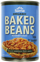 Suma Baked Beans In Low Sugar Tomato Sauce Organic