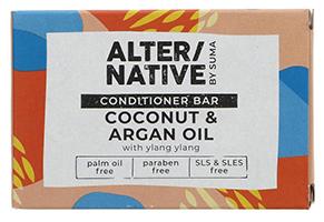 Alter/Native by Suma Coconut & Argan Oil Conditioner Bar