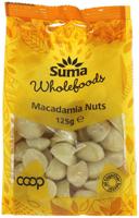 Suma Macadamia Nuts 125g