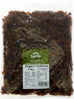 Suma Sultanas Organic 2.5kg