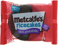 Metcalfe's Ricecakes Dark Chocolate