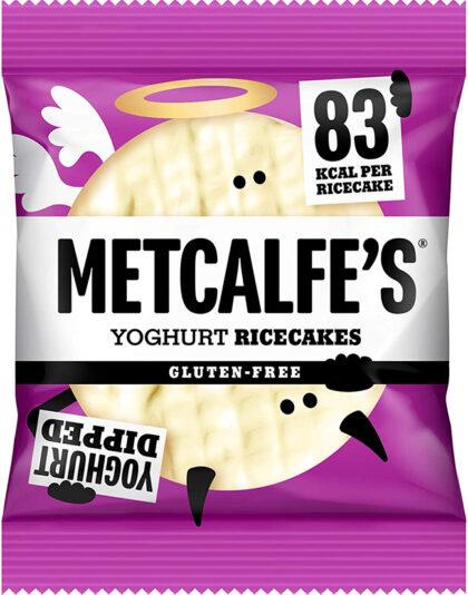 Metcalfe's Ricecakes Yoghurt