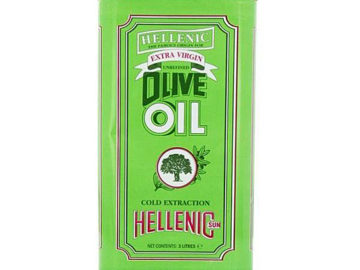 Hellenic Extra Virgin Unrefined Olive Oil 3lt