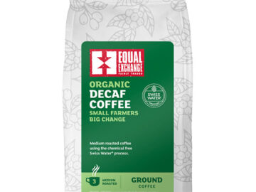 Equal Exchange Decaffeinated Ground Coffee F/T Org