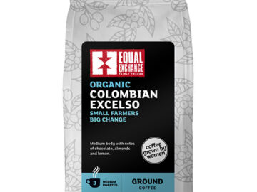 Equal Exchange Colombian Excelso Roast Ground Coffee Organic