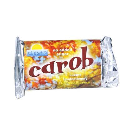 Siesta Carob Bar Orange