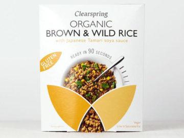 Clearspring Brown & Wild Rice with Tamari Soya Sauce Organic