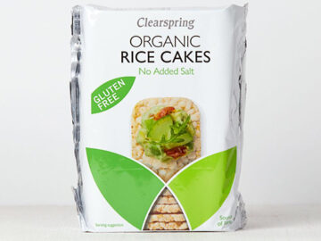 Clearspring Rice Cakes No Added Salt Organic ~ Gluten Free