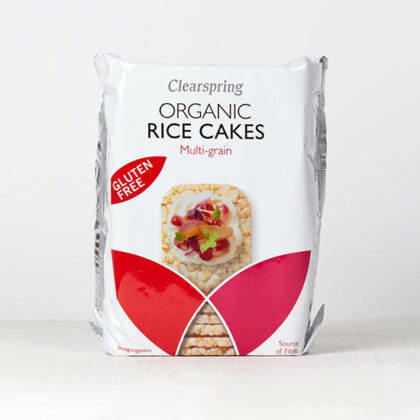 Clearspring Rice Cakes Multigrain Organic ~ Gluten Free