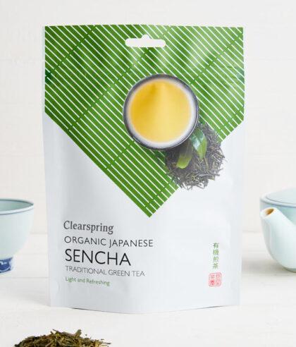 Clearspring Nagata Japanese Sencha Premium Green Tea Organic