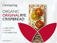 Clearspring Original Rye Crispbread Organic